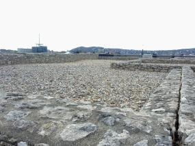 Reruntuhan di sekitar Kastil Buda