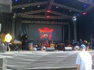 Gastland Indonesien-Bühne